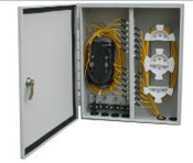 24 Fiber Outdoor Single Door Wall Mount Box