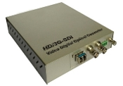 1 Channel HD 1080i Video Fiber Optic Converter with Data