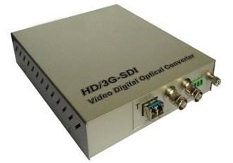 1 Channel 3G HD Video Fiber Optic Converter with Data