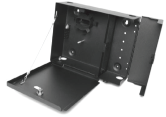Fiber Wall Mount Distribution Panel Box, with lock 4 plates