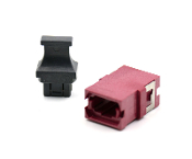 Magenta Reduced Flange Std. Footprint MTP Adapter w/ 1 Dust Cap