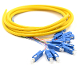 SC Jacketed 12Pk SM Yellow Jacketed Fiber Pigtails, 3 Meters