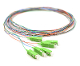 SC/APC Pigtail 6 Fiber SM Multi Color Fiber Pigtails 3 Meters