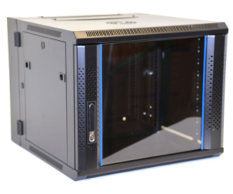 9U Wall Mount Enclosure - Vented Border - 600mm X 600mm - DBL