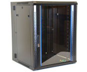 15U Wall Mount Enclosure - Vented Border - 600mm X 450mm - DBL