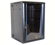 18U Wall Mount Enclosure - Vented Border - 600mm X 450mm - DBL