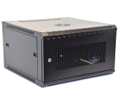 6U Wall Mount Enclosure - Mesh Door - 600mm X 450mm - SGL
