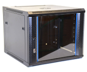 9U Wall Mount Enclosure - Vented Border - 600mm X 450mm - SGL
