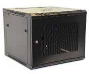 9U Wall Mount Enclosure - Mesh Door - 600mm X 450mm - SGL