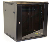 12U Wall Mount Enclosure - Glazed Door - 600mm X 450mm - SGL