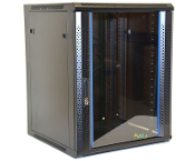 15U Wall Mount Enclosure - Vented Border - 600mm X 450mm - SGL