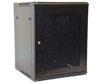 15U Wall Mount Enclosure - Mesh Door - 600mm X 450mm - SGL