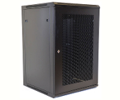 18U Wall Mount Enclosure - Mesh Door - 600mm X 450mm - SGL