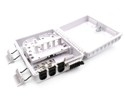 12 Fiber Wall Mount Termination Box with 3 Ports - A