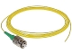 FC/APC 1Piece SM Fiber Optic Pigtails, Yellow, 3 Meters
