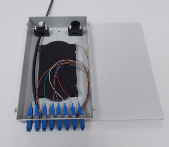 8 Port Wall Mount Termination Box