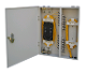 24 Fiber Optic Single Door Wall Mount Box