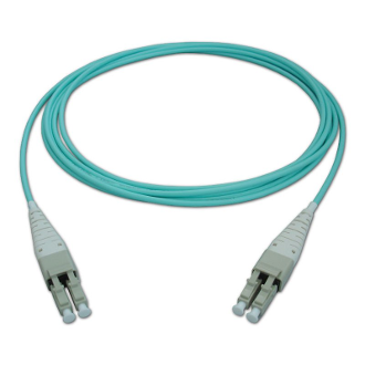 25M LC Uniboot Duplex Plenum Jacket Fiber Optic Patch Cable