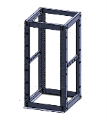 24u 4 post Network server-equipment Rack, server rack