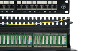 Network Cat6 / Cat5e Patch Panels