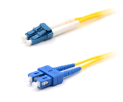 SC to LC singlemode fiber optic patch cable