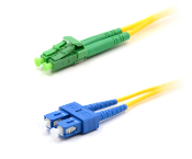 sc to Lc-apc single mode fiber optic patch cable