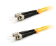 ST/ST Duplex Patch Cable, Singlemode, 1 Meter Long
