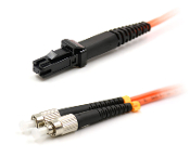 FC/MTRJ Duplex Patch Cable, Multimode 62.5,1 Meter Long