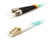 LC TO ST MULTIMODE 10GB OM3 FIBER OPTIC PATCH CABLE