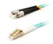 LC TO FC MULTIMODE 10GB OM3 FIBER OPTIC PATCH CABLE