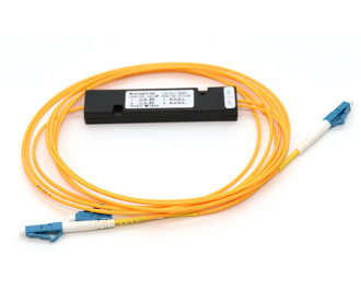 1x2 PLC Fiber Optic Splitter in ABS Box