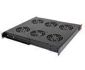 Cooling Fan Assembly for Network Racks - 6 Fans, 1U