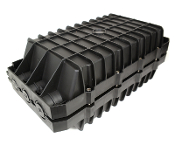 144 Fiber Horizontal Splice Enclosure - 6 Port - 6 Tray