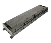 48 Fiber Horizontal Splice Enclosure - 8 Port