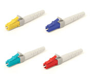 Secured LC Keyed fiber optic patch cables